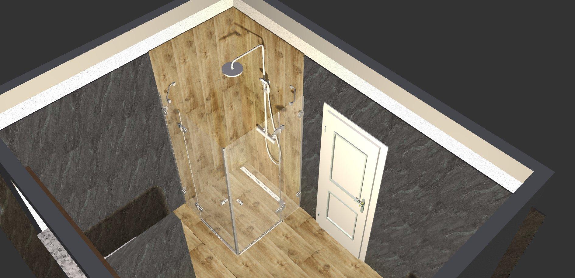 Koupelna - návrh 3a
