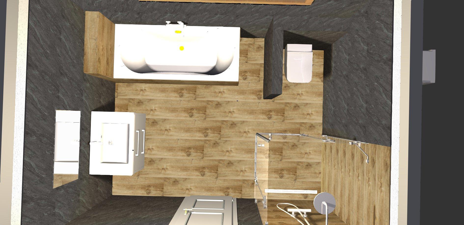 Koupelna - návrh 3c