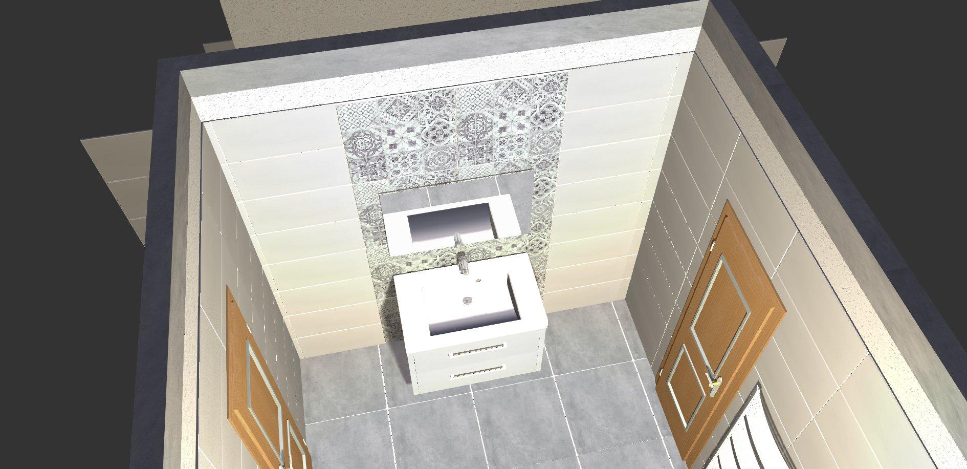Koupelna - návrh 4a
