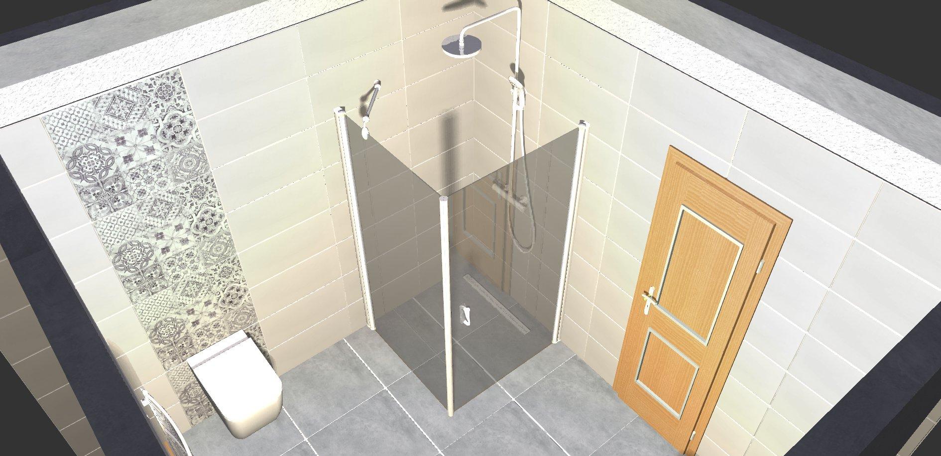 Koupelna - návrh 4b