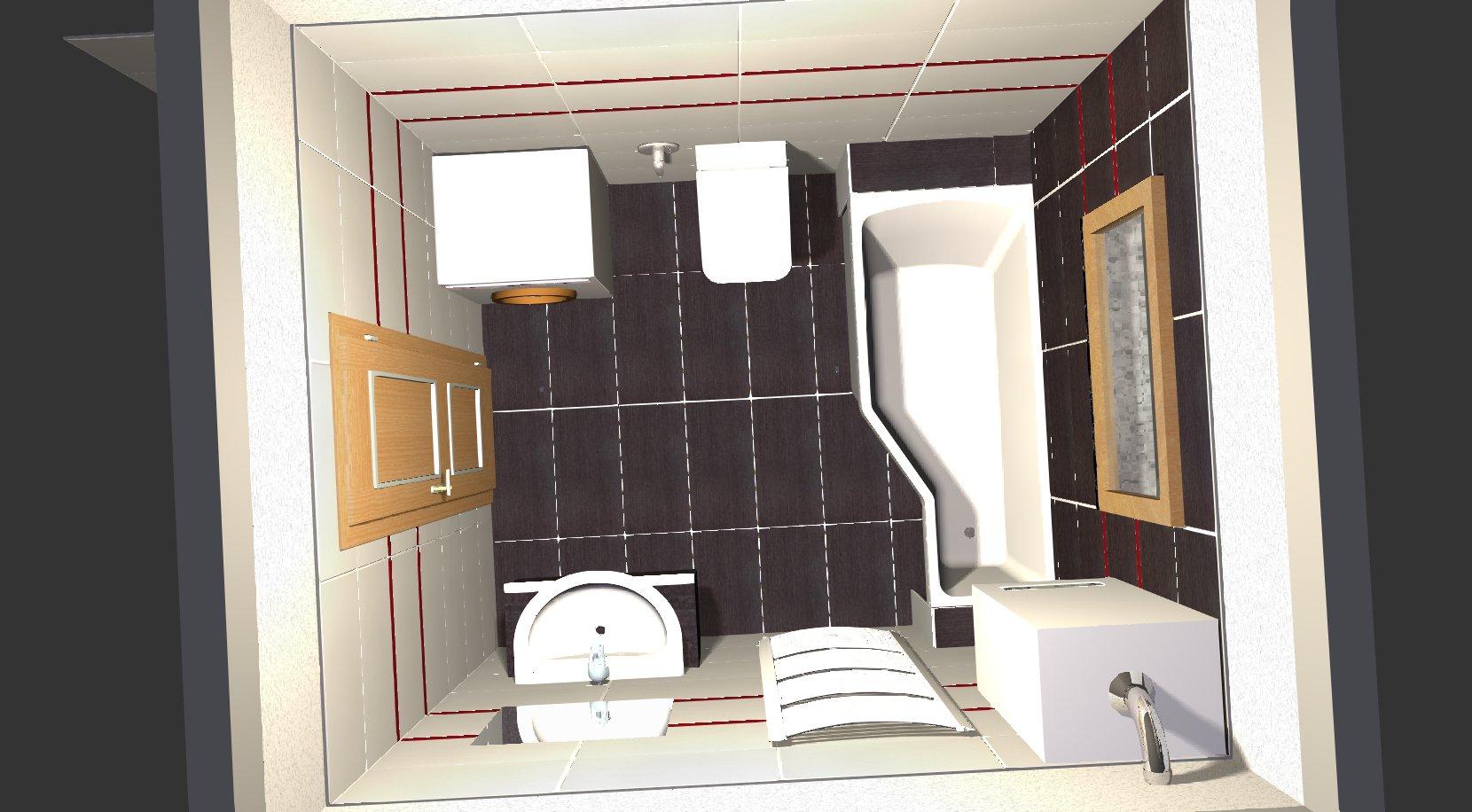 Koupelna - návrh 5a