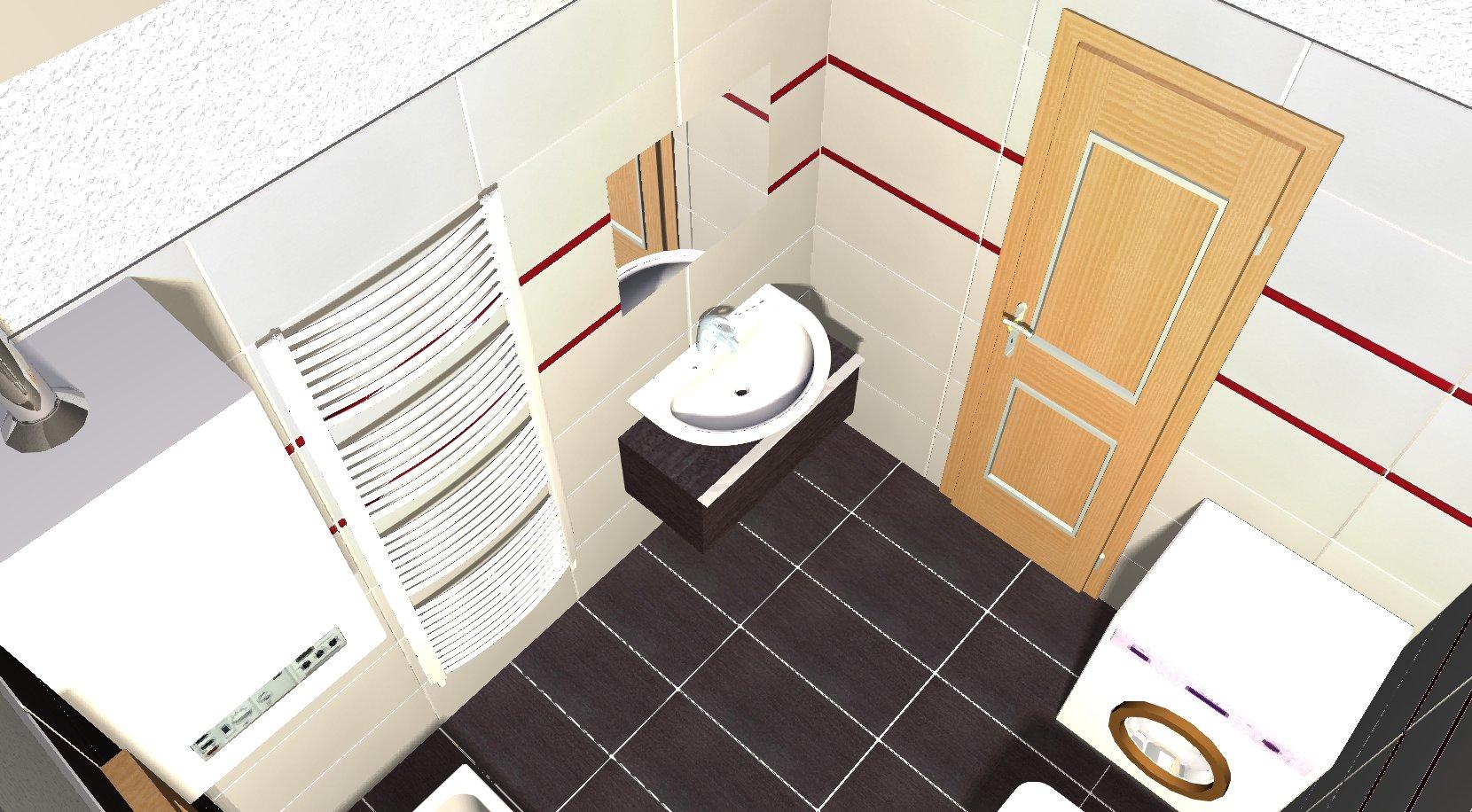 Koupelna - návrh 5c