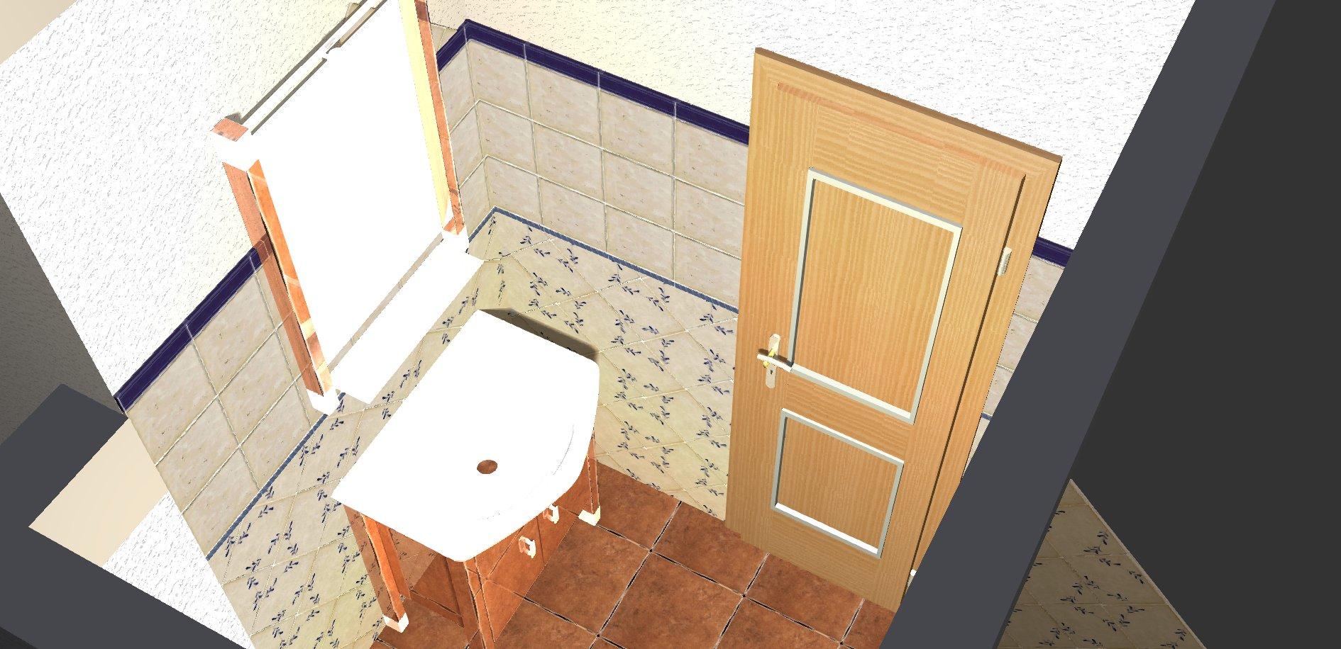 Koupelna - návrh 6