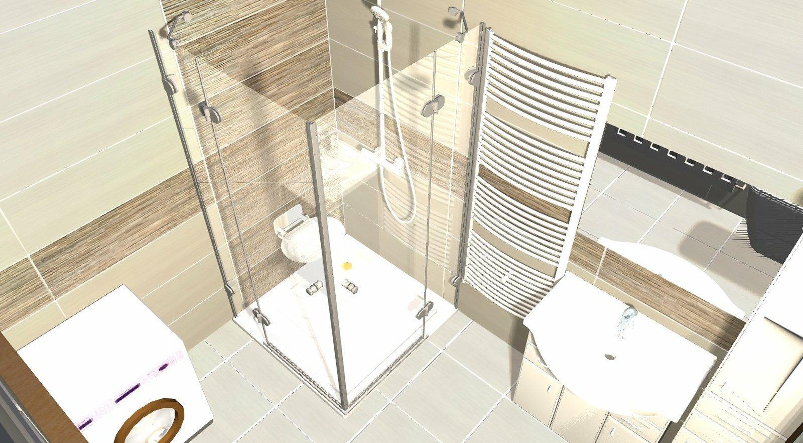 Koupelna - návrh 1a