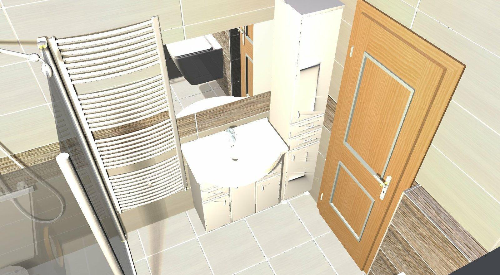 Koupelna - návrh 1c